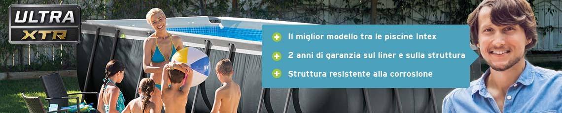 Piscina Intex Ultra XTR Frame