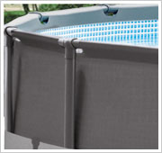 Intex Ultra Frame Pool stabiel