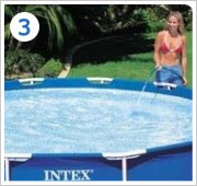 Intex Metal Frame Pool opzetten stap 3
