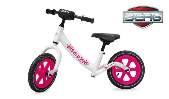 Bicicletta-senza-pedali-BERG-Biky-bianca/rosa