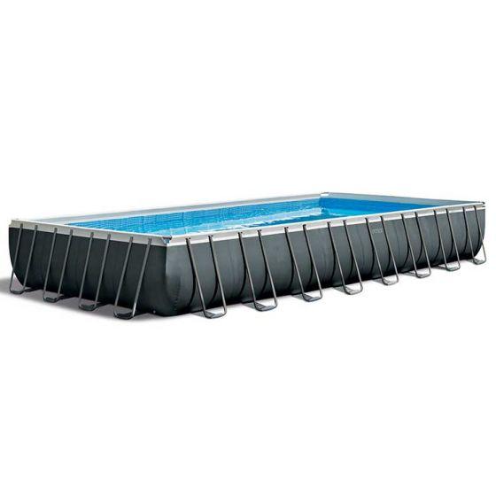 INTEX™-Ultra-XTR-Frame-Piscina---975-x-488-cm-(set-incl.-Pompa-di-filtrazione-a-sabbia)