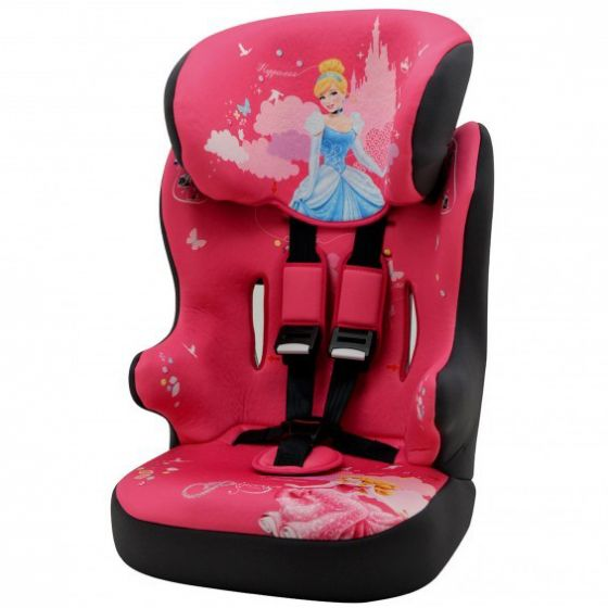 Seggiolino-Auto-Disney-Racer-Princess-1/2/3