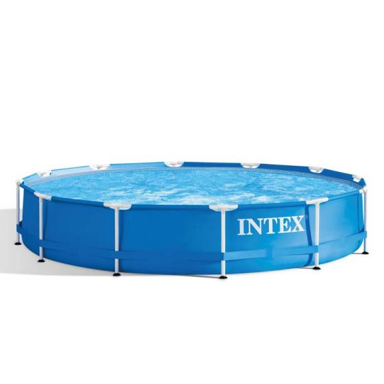 INTEX™-Metal-Frame-Piscina---Ø-366-cm