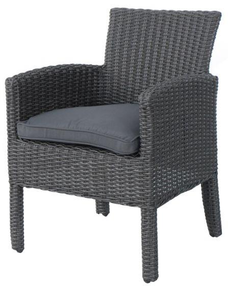 Sedia-da-giardino-Elegant-grigia-in-vimini