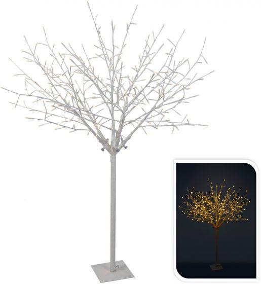 Albero-bianco-con-rami-304LED-bianco-caldo-150-cm