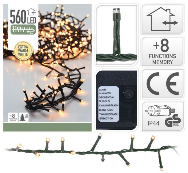 Catena-di-luci-con-560-lampadine-a-LED---11-metri