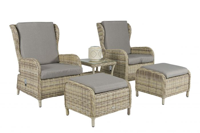 Set-lounge-Kingset-Polyrattan-