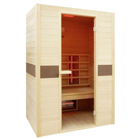 Sauna-a-infrarossi-Interline-Ruby-per-2-persone-130x94x190