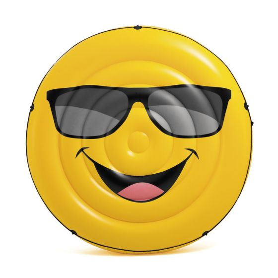 Materassino-gonfiabile-Faccina-Smiley-Cool-Guy-