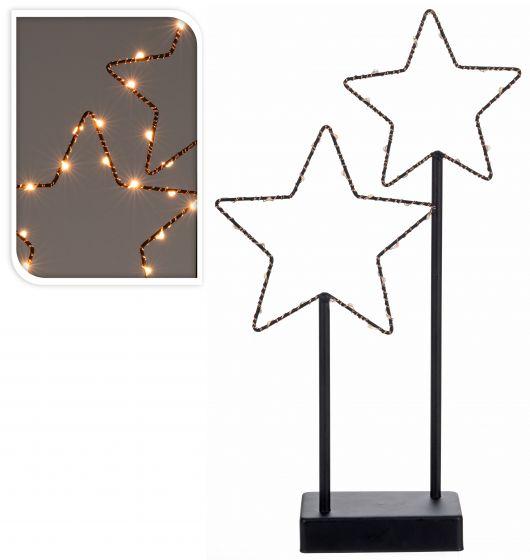Stelle-con-30-lampadine-a-LED-40-cm