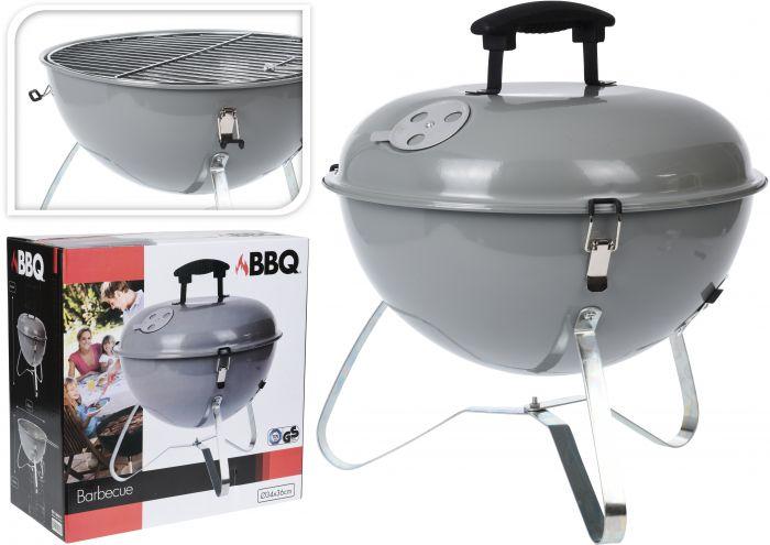 Barbecue-a-carbonella-a-Sfera-35cm-Grigio