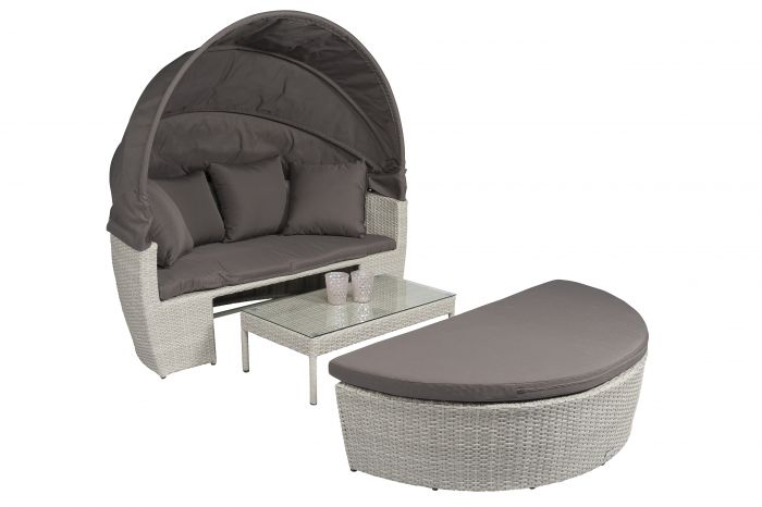 Lettino-lounge-Polyrattan-