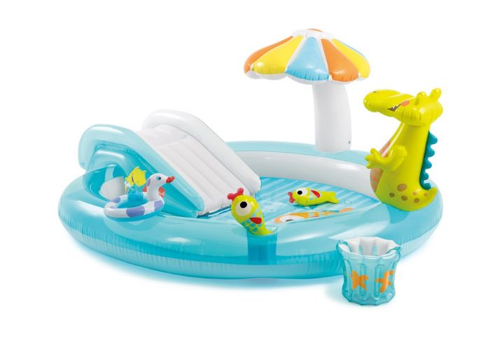 Paradiso-acquatico-gonfiabile-INTEX™-Play-Center-Alligatore