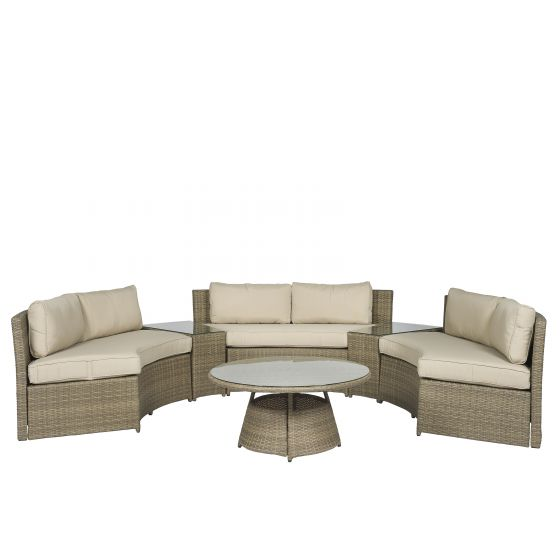Lounge-set-divano-angolare-in-wicker-