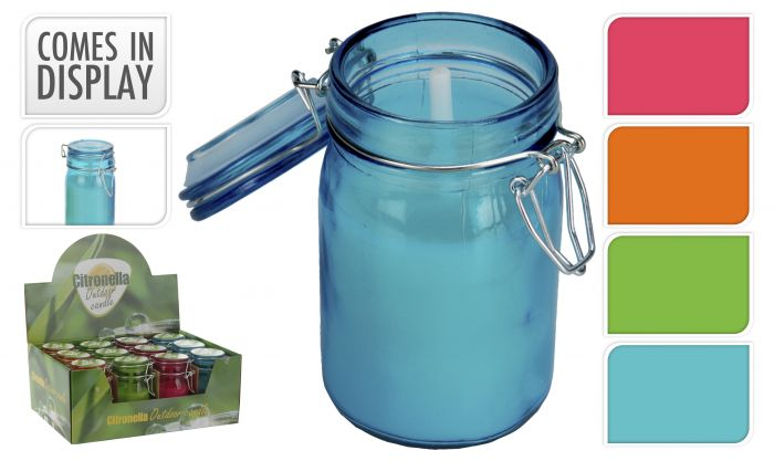 Candela-alla-citronella-in-vaso-di-vetro