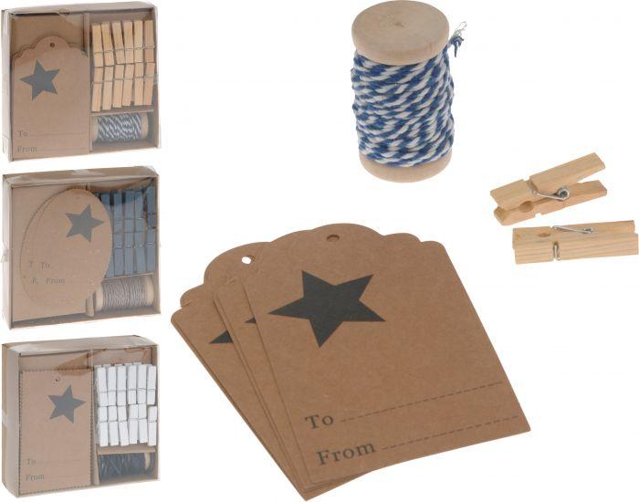 Verpakkings-decoratie-set