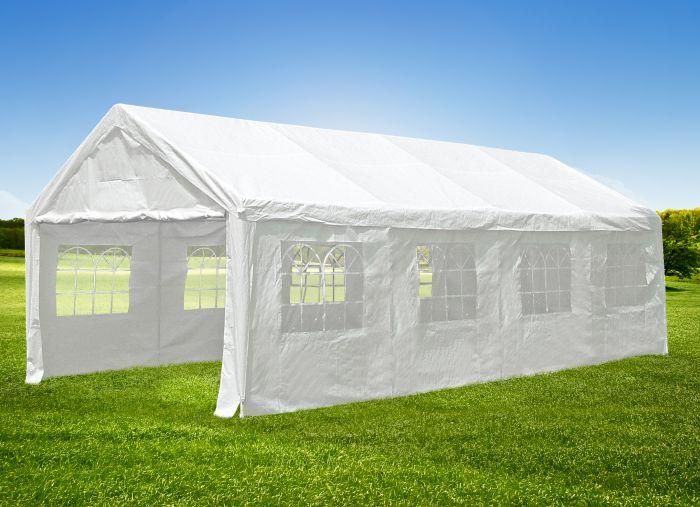 Gazebo-per-feste-4x8-metri-bianco-con-pareti-Pure-Garden-&-Living