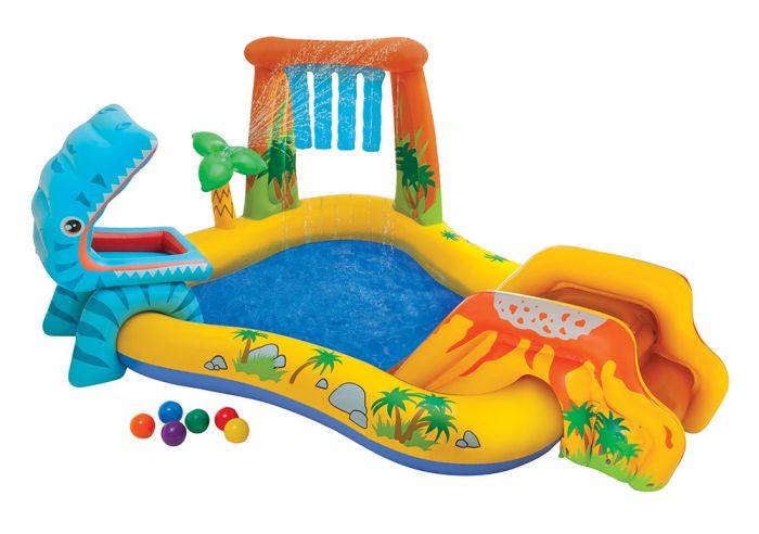 Piscina-gonfiabile-con-postazione-gioco-Intex-Play-Center-Dinosauro