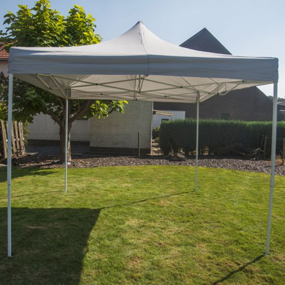 Gazebo-Easy-Up-per-feste-Pure-Garden-&-Living-3x3-metri,-lusso