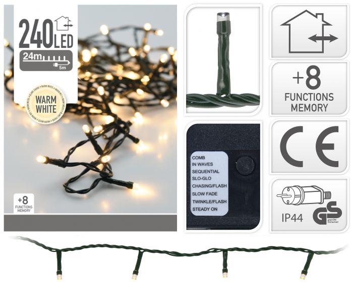 Illuminazione-a-LED-con-240-lampadine-bianco-caldo
