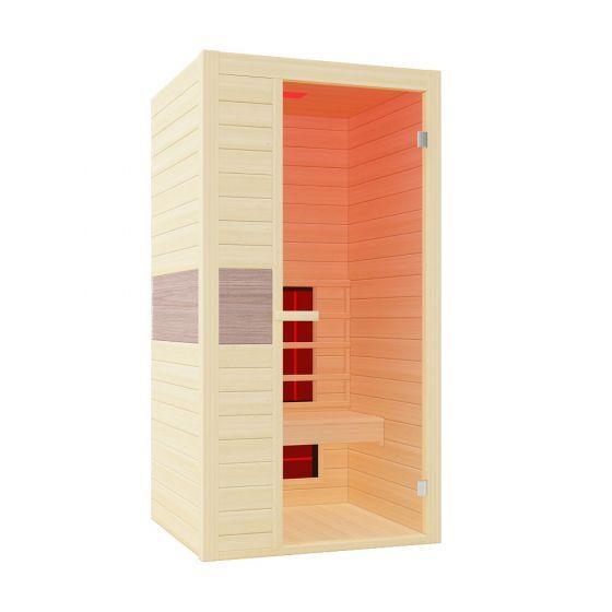 Sauna-a-infrarossi-Interline-Ruby-1--a-uso-singolo-100x94x190