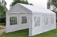Gazebo-per-feste-3x6-metri-Deluxe-Pure-Garden-&-Living,-bianco-con-pareti