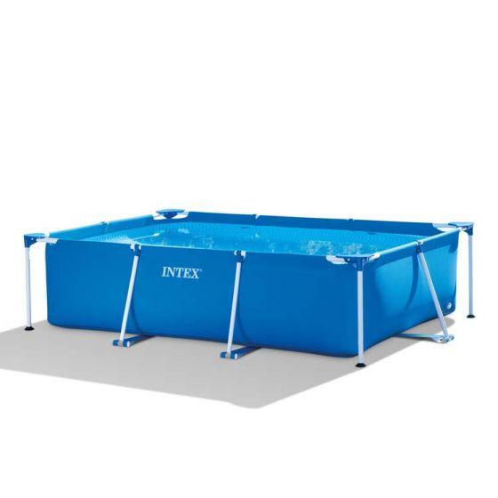 INTEX™-Metal-Frame-Piscina---220-x-150-cm