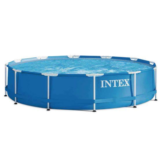INTEX™-Metal-Frame-Piscina---Ø-366-cm