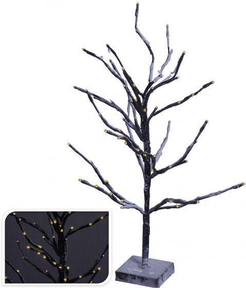 Albero-72LED-bianco-caldo-60-cm-marrone