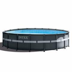 INTEX™-Ultra-XTR-Frame-Piscina---Ø-549-cm-(set-incl.-Pompa-di-filtrazione-a-sabbia)