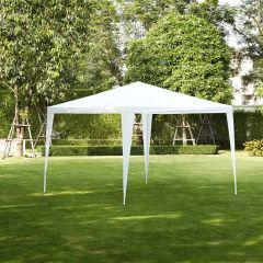 Gazebo-per-feste-3x3-metri-Pure-Garden-&-Living,-bianco