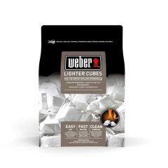 Weber-Cubetti-accendifuoco,-22-pezzi,-bianco