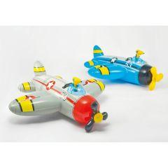 Gioco-gonfiabile-cavalcabile-Intex-Aereo-con-pistola-ad-acqua-