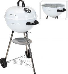 Barbecue-a-carbonella-a-Sfera-48cm-bianco