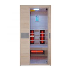 Sauna-a-infrarossi-Interline-Jade-1--a-uso-singolo-100x94x190