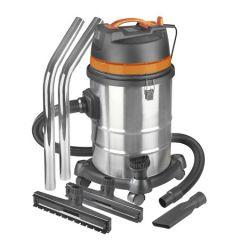 Aspiratore-industriale-a-secco-e-a-umido,-Eurom-Force-1240-in-acciaio-inossidabile