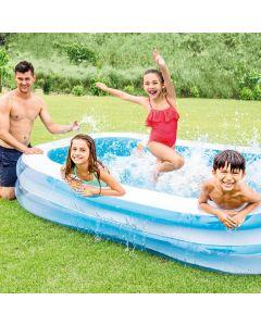 Piscina gonfiabile rettangolare INTEX™ Swim Center Family (262 x 175 cm)