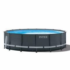 INTEX™-Ultra-XTR-Frame-Piscina-Ø-488-cm-(set-incl.-Pompa-di-filtrazione-a-sabbia)