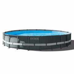 INTEX™-Ultra-XTR-Frame-Piscina---Ø-610-cm-(set-incl.-Pompa-di-filtrazione-a-sabbia)