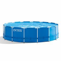 INTEX™-Metal-Frame-Piscina---Ø-457-x-122-cm-(set)