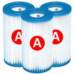 Filtro a cartuccia Intex tipo A - 3 pezzi