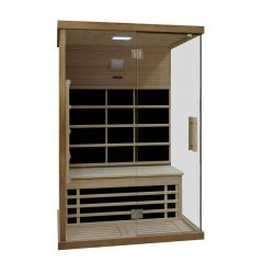 Sauna-a-infrarossi-Interline-Carbon-per-2-persone-126x92x190