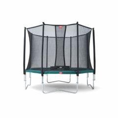 Trampolino-elastico-BERG-Favorit-380-+-rete-di-sicurezza-Comfort