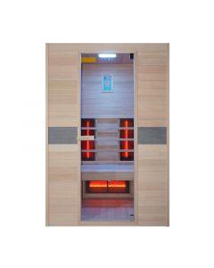 Sauna a infrarossi Interline Jade per 2 persone 130x94x190