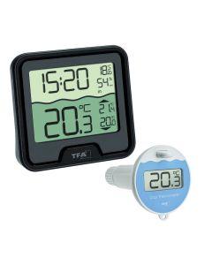 Termometro per piscina TFA Dostmann MARBELLA