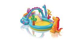 Piscina-gonfiabile-con-postazione-gioco-INTEX™-Dinoland-(333-x-229-cm)