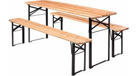 Set tavolo da birreria 200 cm