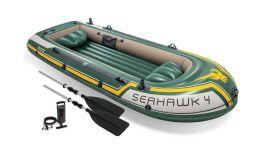 Canotto gonfiabile Intex Seahawk 4 posti (inclusi remi e pompa)