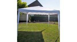 Gazebo Easy Up per feste 3x3 metri Pure Garden & Living, bianco