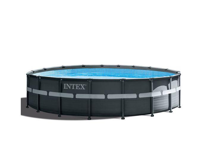 INTEX™ Ultra XTR Frame Piscina - Ø 549 cm (set incl. Pompa di filtrazione a sabbia)